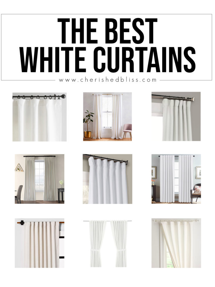 Shop the Best White Curtains