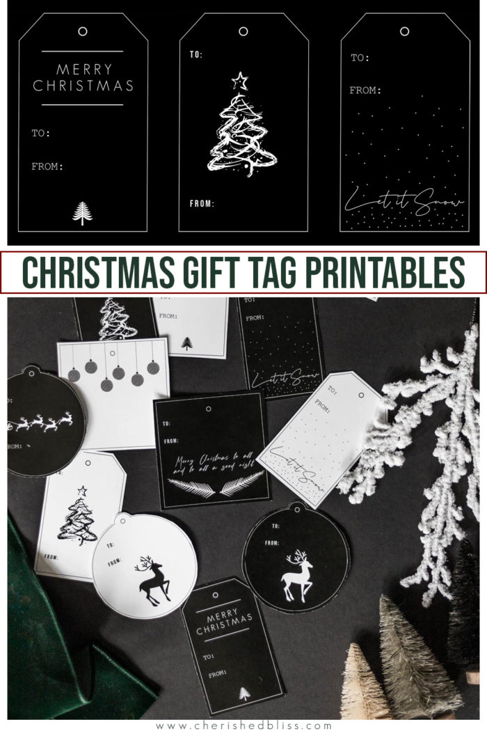 Download these free Christmas Gift Tag Printables