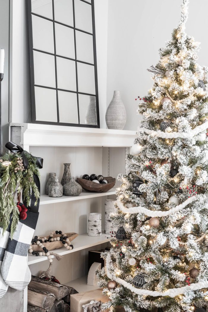 Cozy Modern Rustic Christmas Tree Cherished Bliss