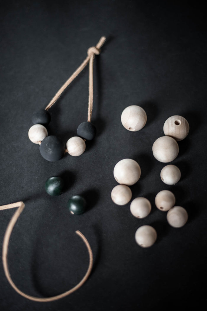 How to Make Wooden Bead Christmas Ornaments.