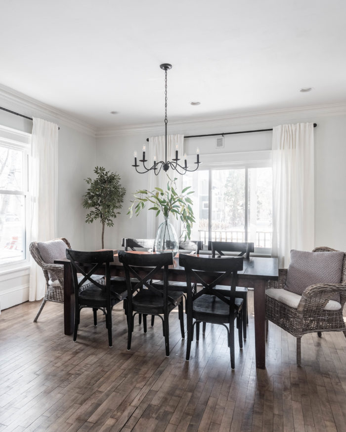 Simple Formal Dining Room Reveal - Cherished Bliss