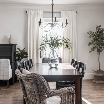 Simple Formal Dining Room Reveal