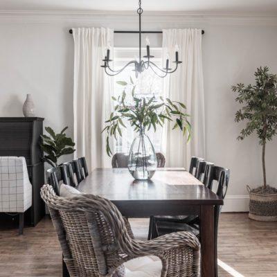 Simple Formal Dining Room Reveal