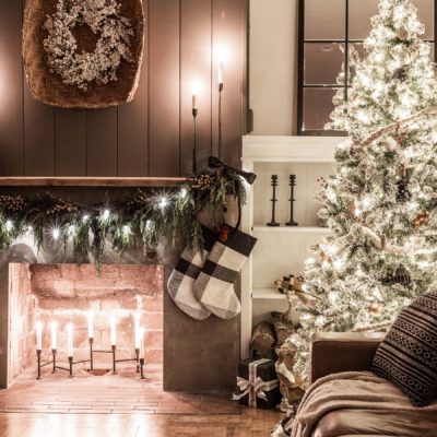 Candlelight Christmas Home Tour