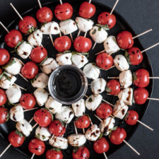 Caprese Salad Appetizer Skewers Recipe