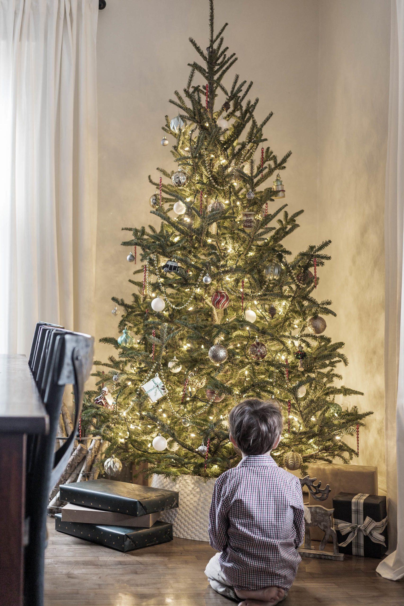 Classic Nostalgic Christmas Tree Cherished Bliss