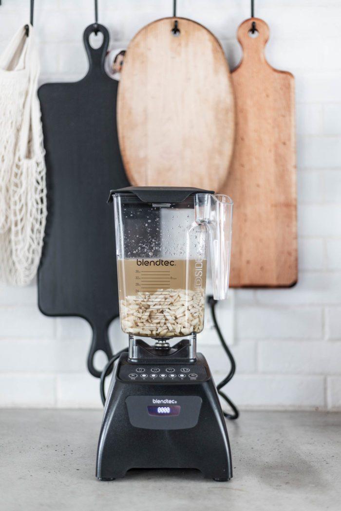 Use Blendtec blender to make homemade almond milk