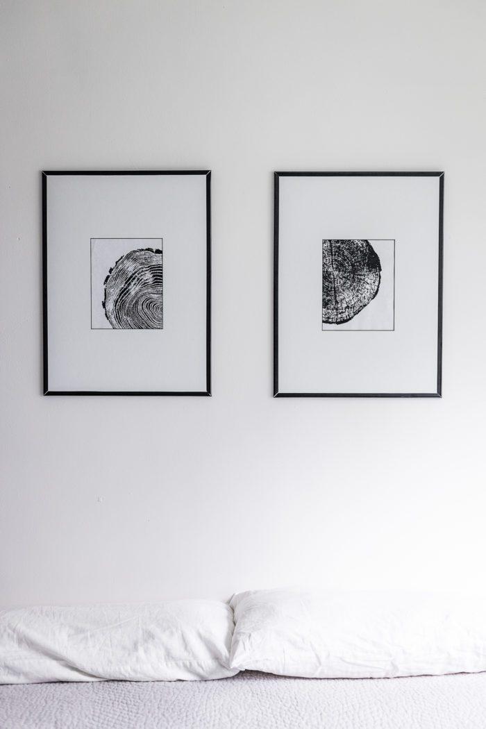 Black and White Minimalist Wall Art Free Printable