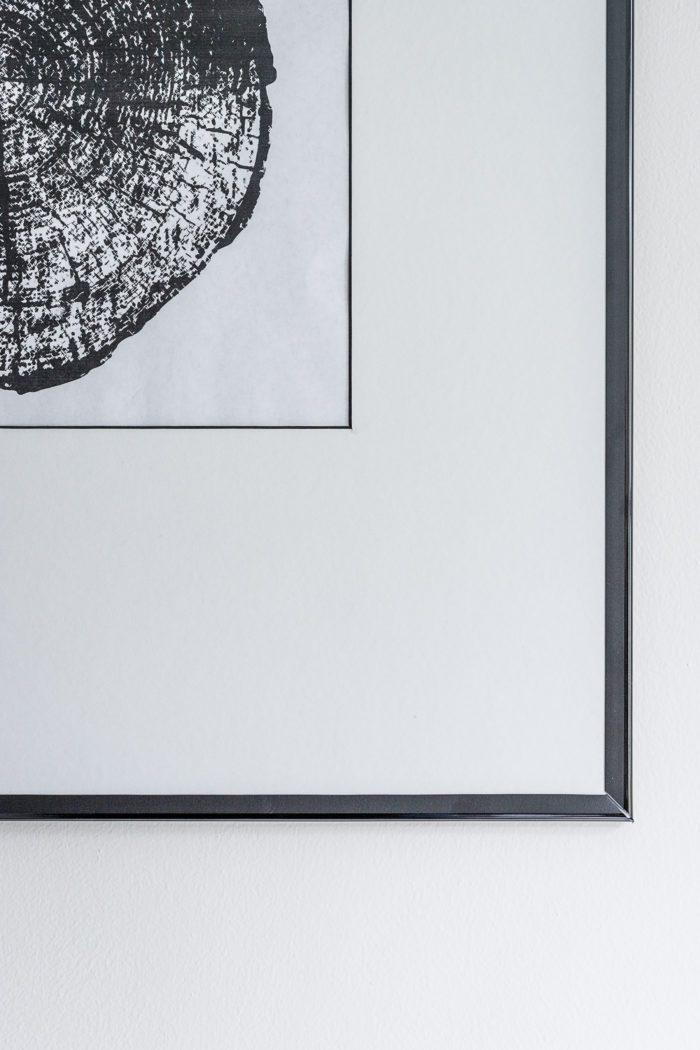 Custom Matting for framed art