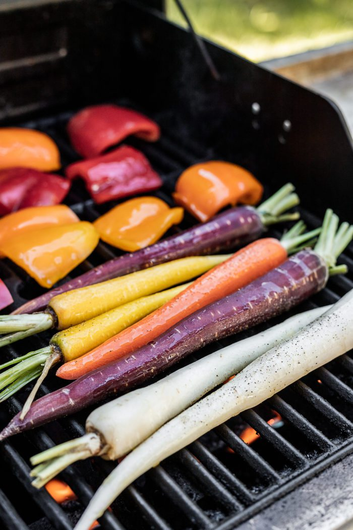 Fresh Vegetables on a grill.