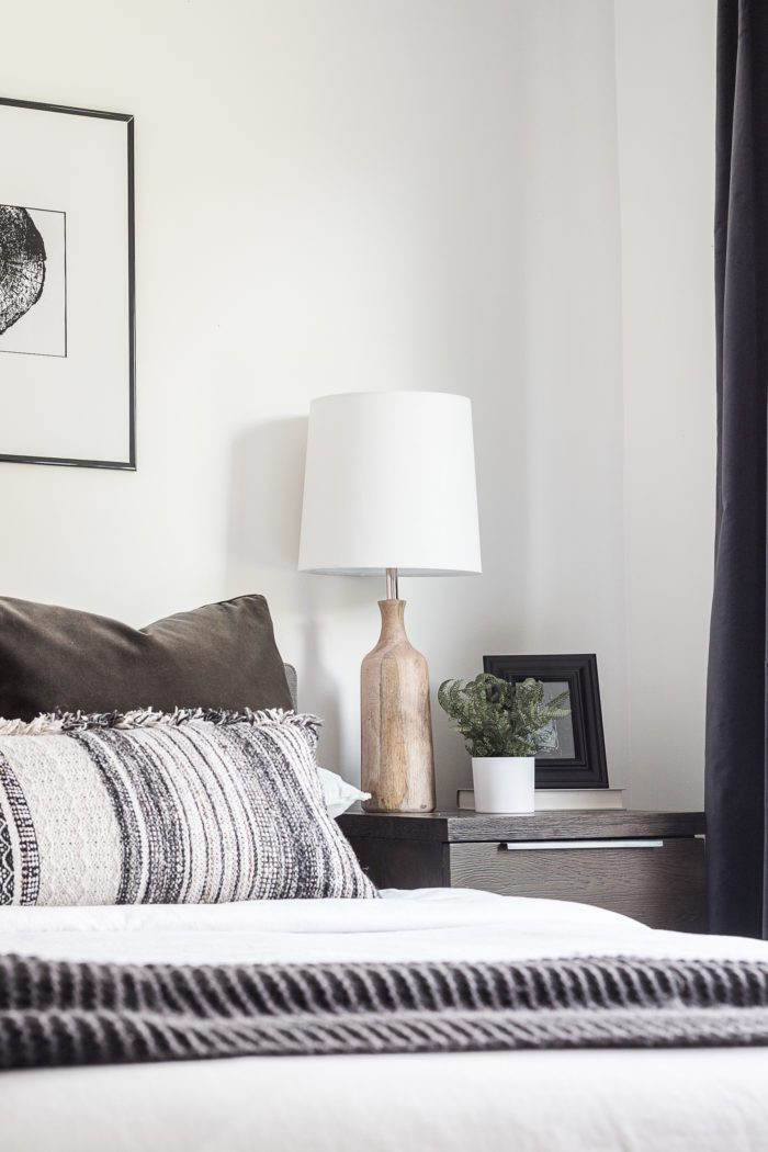 Modern Scandinavian Master Bedroom.