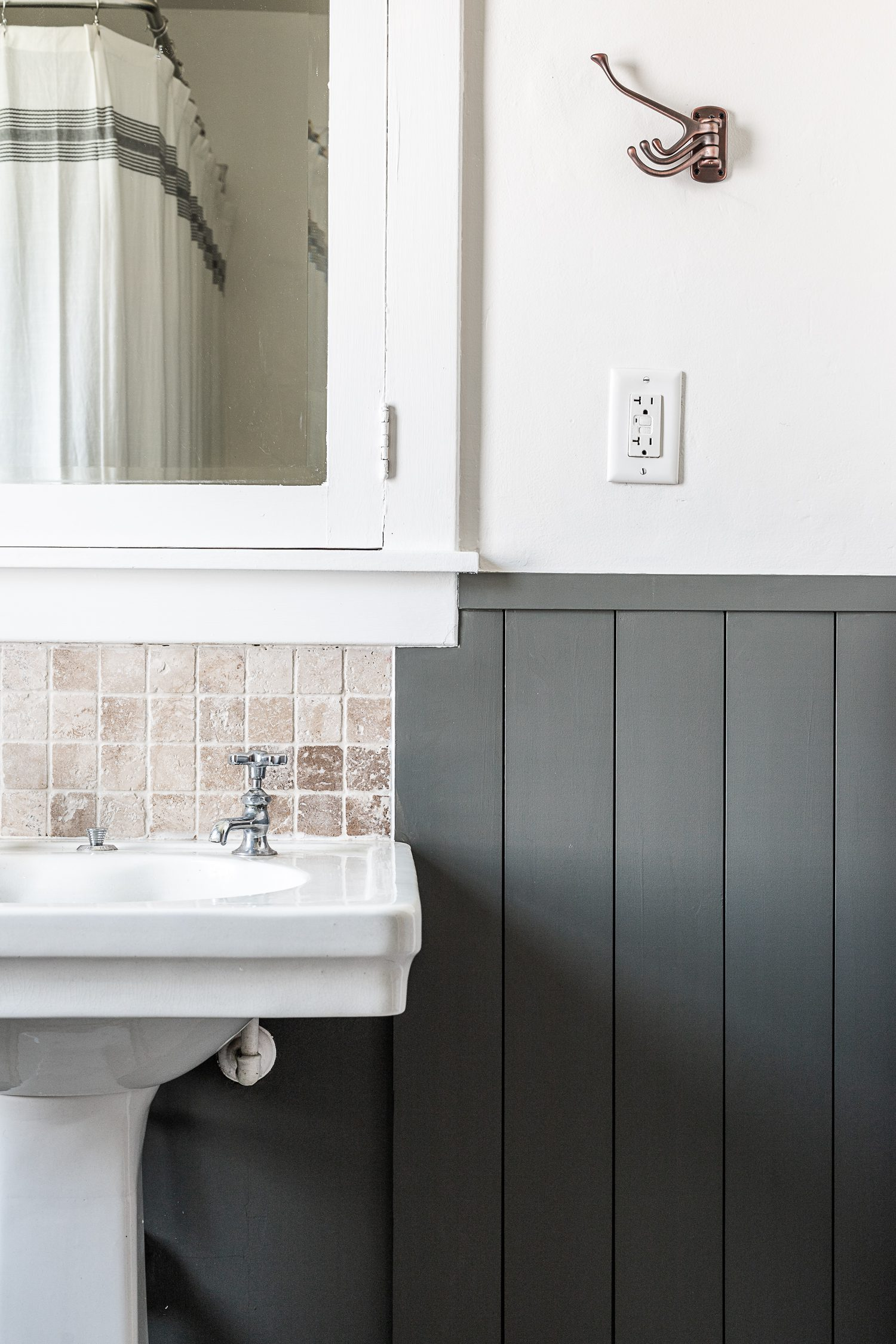 Boys Bathroom Makeover In A Historic Home Cherished Bliss