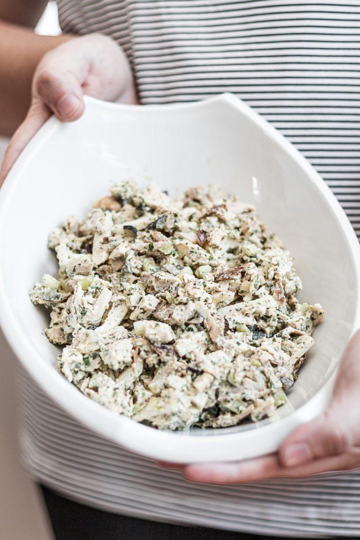 Keto Friendly Rotisserie Chicken Salad Recipe