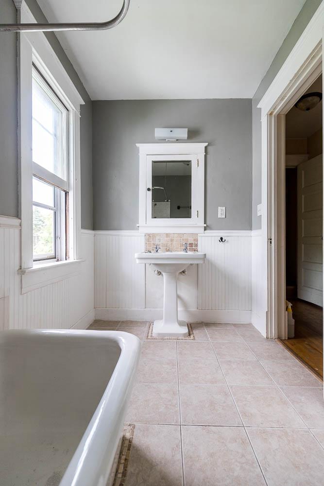 Historic Bathroom Before Photo