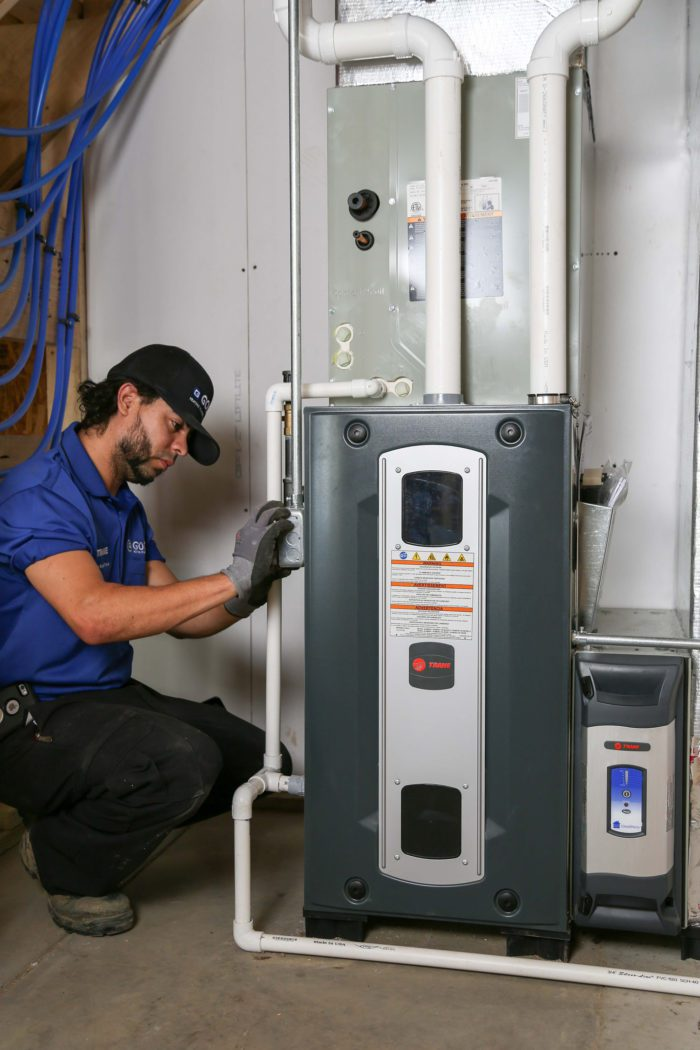 Check the filters in your HVAC system  and read these other tips for how to heat your home.