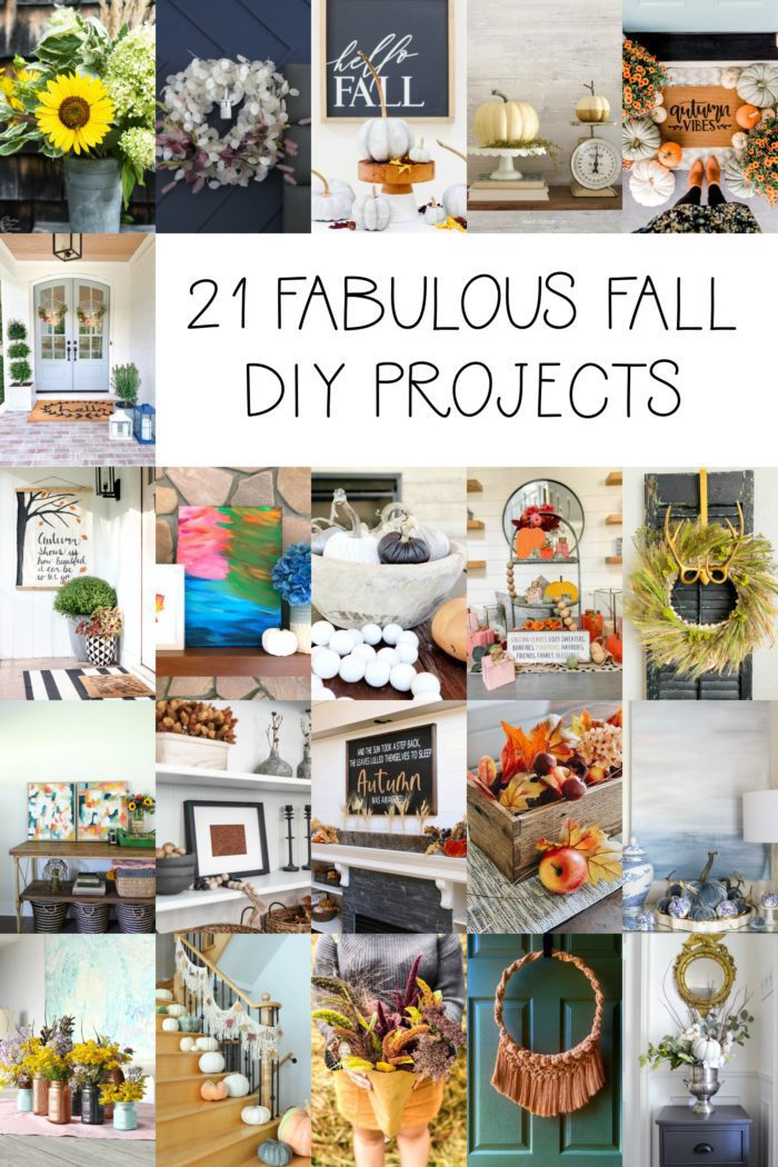 21 Fabulous Fall DIY Projects