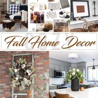 Easy Fall Home Decor Ideas