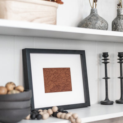 Easy DIY Fall Shelf Decor & Shelf Styling Tips