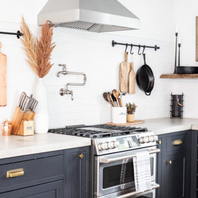 Modern Rustic Fall Kitchen Decor