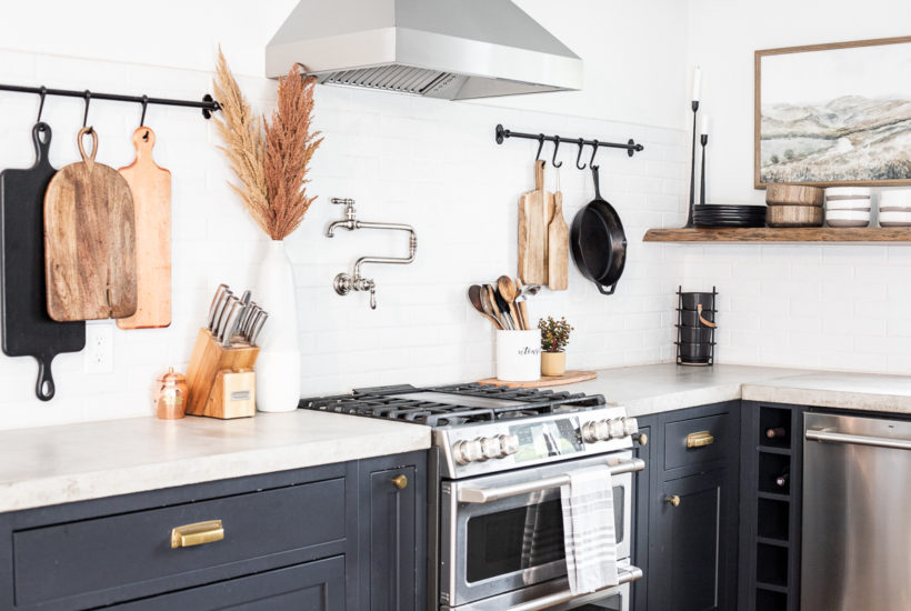 Modern Rustic Fall Kitchen Decor