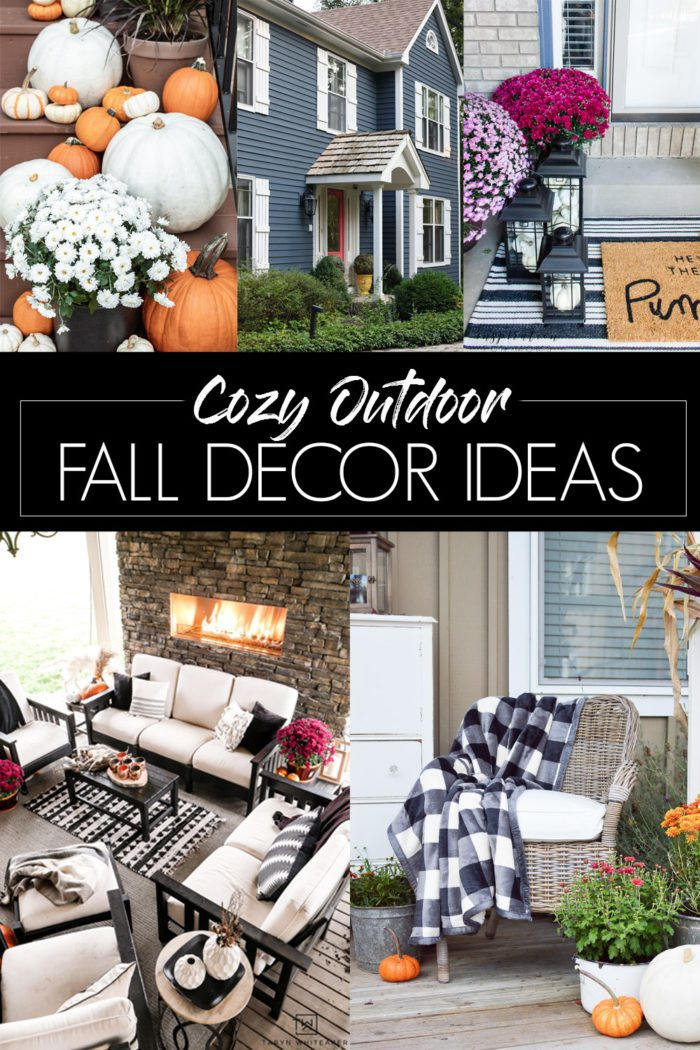 Cozy Outdoor Fall Decor Ideas Cherished Bliss