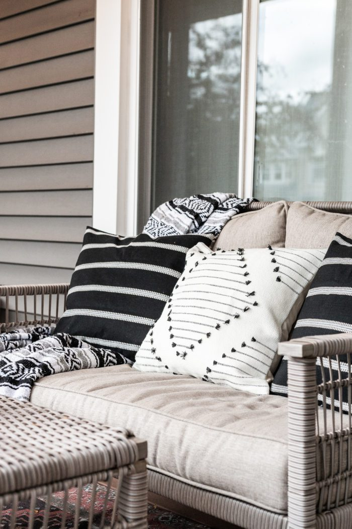Outdoor Throw Pillows - Fall Decor