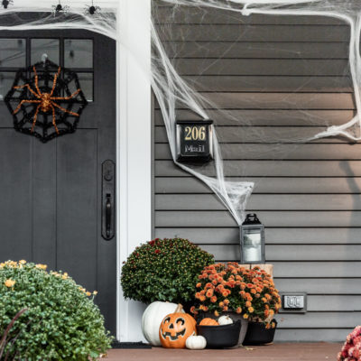 Halloween Front Porch Decor Ideas | Fun & Festive