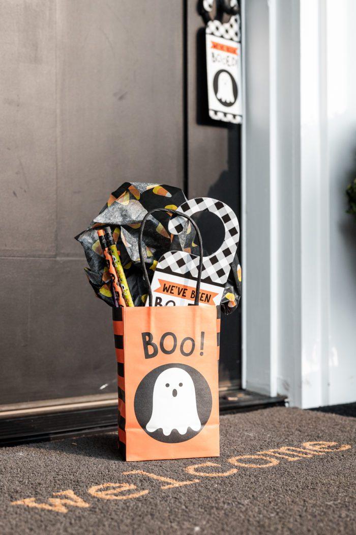 You've Been Booed Halloween Bag