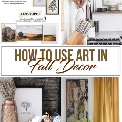 Easy & Affordable Fall Art Ideas for your Home