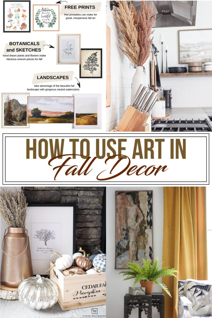 How to Use Art in Fall Decor