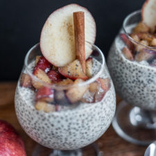 Apple Pie Chia Pudding Fall Recipe