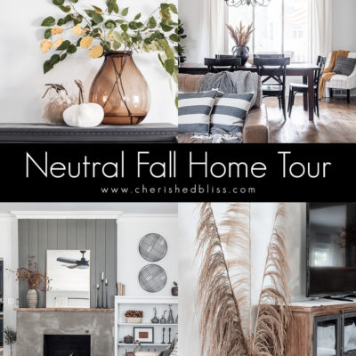 Modern Neutral Fall Home Tour