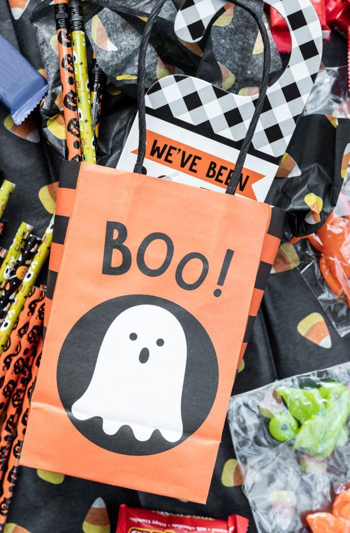 You've Been Booed Halloween Treat