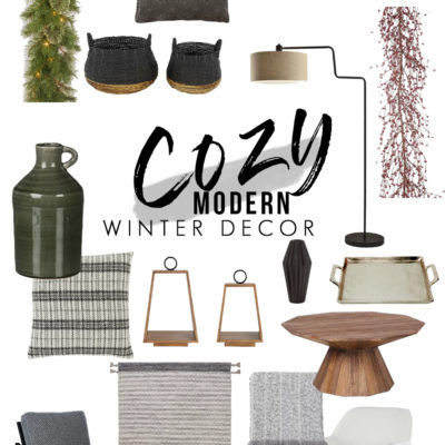 Cozy Modern Winter Decor Ideas You'll Love