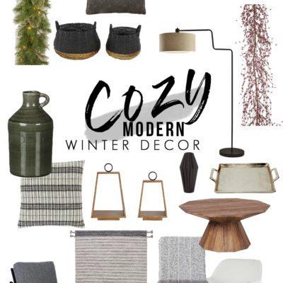 Cozy Modern Winter Decor Ideas You'll Love