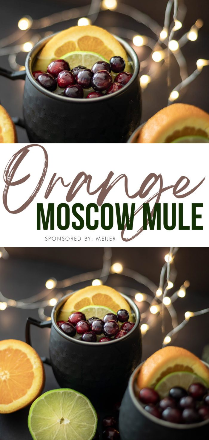 How to Make an Orange Moscow Mule