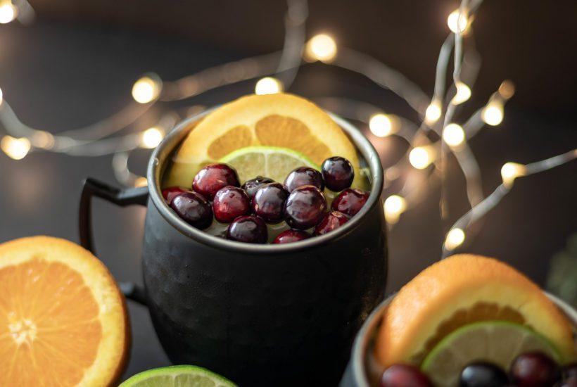 Orange Moscow Mule Recipe garnish-1