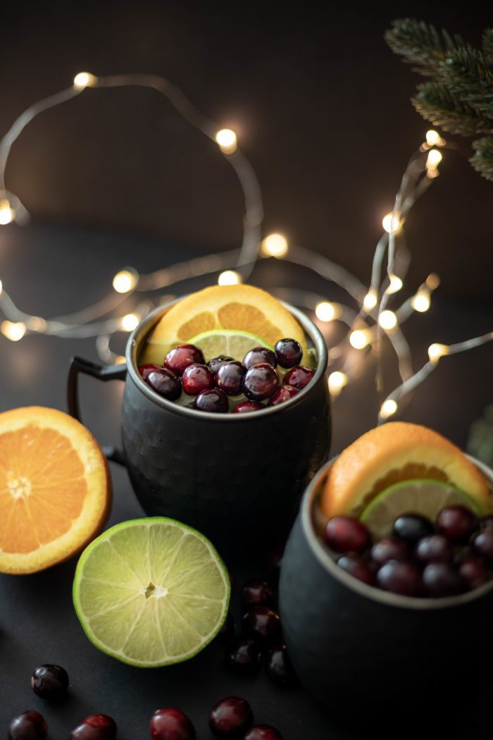 Holiday cocktail - Orange Moscow Mule