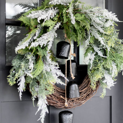 How to Create: A Stunning Modern Organic Christmas Wreath