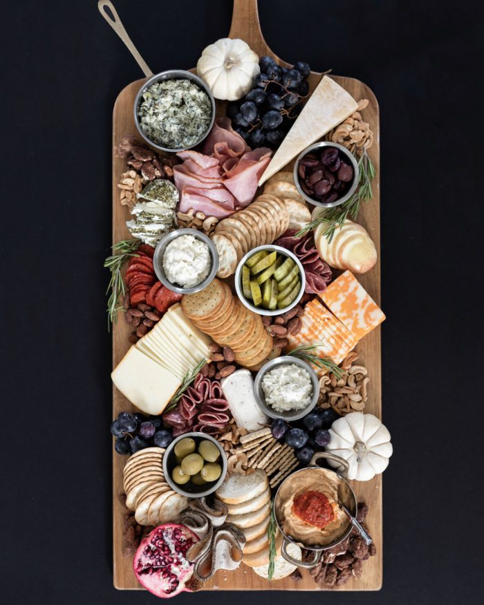 Fall Charcuterie Board - Holiday Entertaining