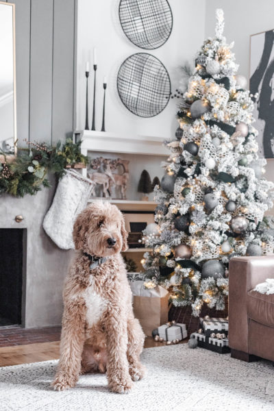This Neutral, Modern Cozy Christmas Tree is the perfect way to bring the holidays into your home. Find out how to get this simple look!