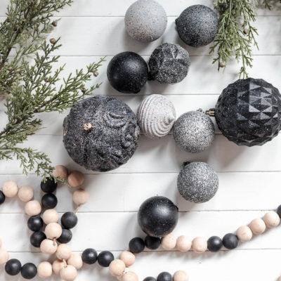 DIY Stone Christmas Ornaments