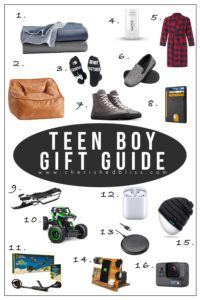 The ultimate shopping guide for Teen Boy Christmas Gift Ideas that he is sure to love in all the price ranges!