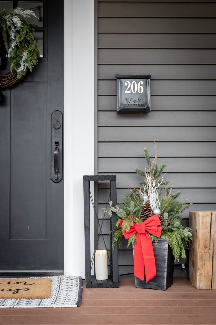 Extra Large DIY Wood Lanterns are the perfect outdoor decor to by your front door!
