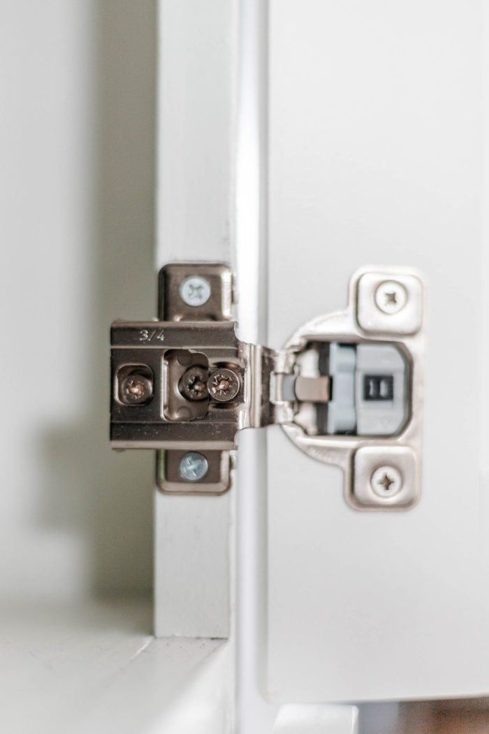 Soft Close Hinge used in cabinet door updates.