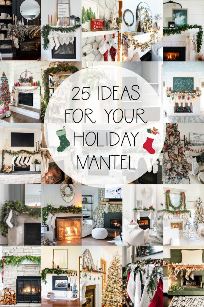 25 Christmas Mantel Ideas