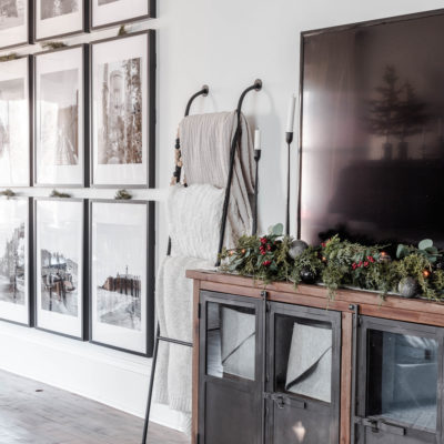 Rustic Luxe Christmas Home Tour & Decor Ideas