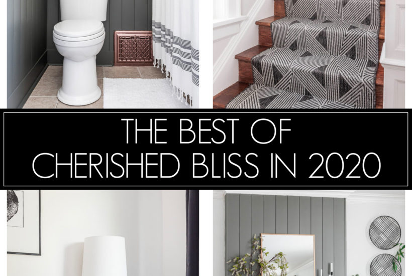Top 10 Posts from Cherished Bliss in 2020
