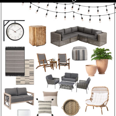 Summer Outdoor Furniture and Decor Shopping Guide