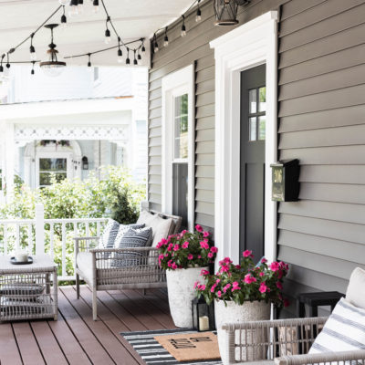 Modern Craftsman Summer Porch Decor Ideas